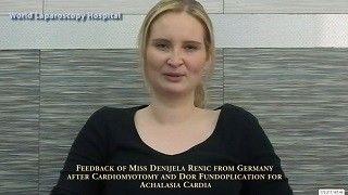 World Laparoscopy Hospital Patient Testimonial