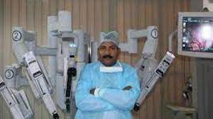 da vinci robotic surgeon's knot, continuos suturing and aberdeen termination
