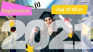 Initial Registration Fee for Admission at WLH